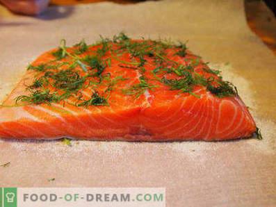 Comment mariner le saumon à la maison est savoureux et rapide