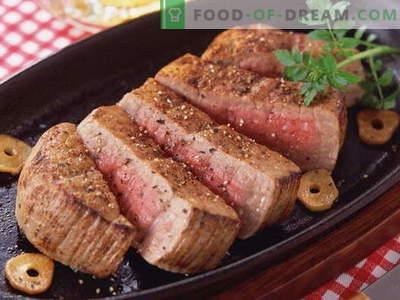 Viande dans la casserole - les meilleures recettes. Comment cuire correctement et savourer la viande dans une poêle.