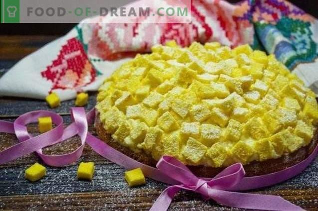Gâteau Mimosa Italien