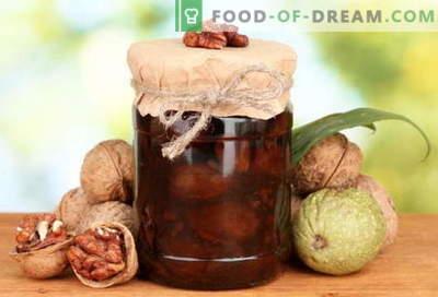 Confiture de noix: comment faire une confiture de noix correctement