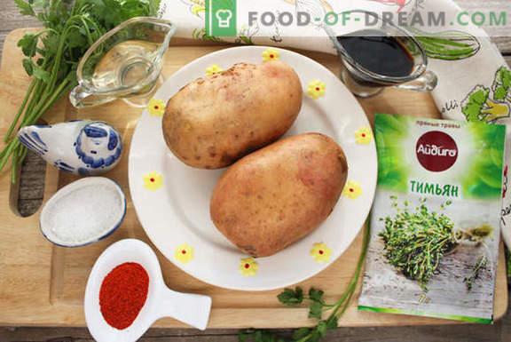 Hélice de pomme de terre cuite au four - Invités surprises et proches