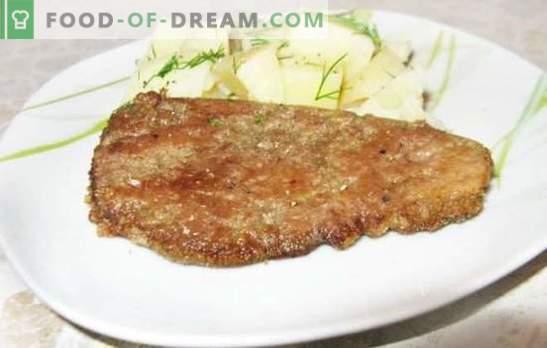Le foie dans le lait est un moyen traditionnel de préparer un plat tendre et sain. Recettes du foie au lait: poulet, porc, bœuf