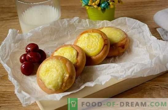Pasteles de queso para secar: una receta fotográfica para un postre único y sencillo. Cocinar pasteles de queso al secar: cocinar comida sabrosa a toda prisa