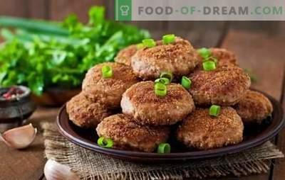 Hamburgers faits maison - l'odeur du bonheur! Boulettes de viande maison délicates, juteuses et délicieuses: recettes et secrets de cuisine