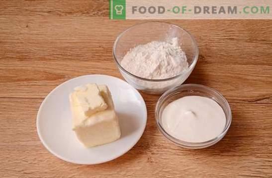 Bagels à la crème sure: une recette photo pas à pas. Cuire des bagels parfumés sur de la crème sure est un travail de longue haleine, mais ça vaut le coup!