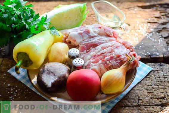 Nous cuisinons le plus délicieux bortsch ukrainien selon la recette classique