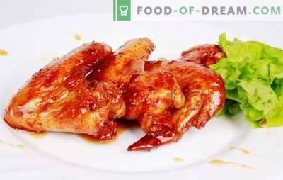 Ailes de poulet dans un multicuiseur - délicieux! Différentes façons de cuire les ailes de poulet dans une mijoteuse
