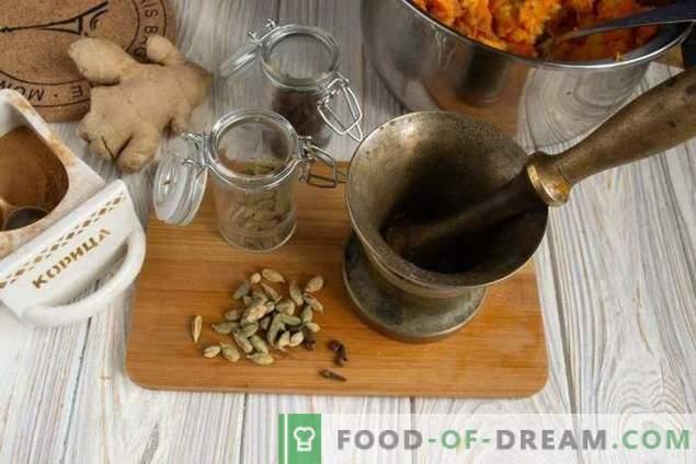Sauce chutney à la citrouille et aux agrumes indiens sucrés