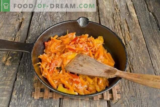 Lentejas con pollo y verduras