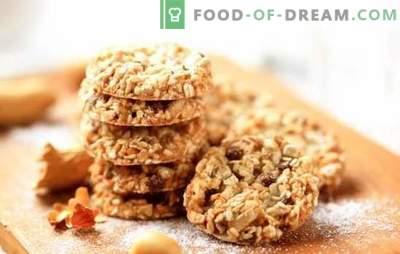 Comment faire de délicieux biscuits à la farine d'avoine sans beurre. Recettes et astuces pour la cuisson de biscuits à l'avoine sans beurre