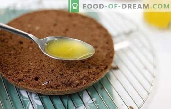 Comment faire tremper un gâteau avec du sirop correctement et sans tracas. Sirops d'imprégnation de gâteaux - recettes de transformations magiques
