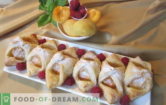 Des pâtisseries simples pressées - elles mangeront quand même plus vite qu'elles ne cuisent. Une sélection de recettes simples cuisant au four