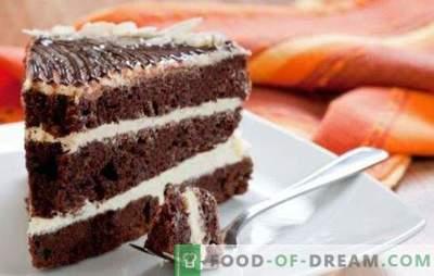 Gâteau Prince Noir au kéfir - un cadeau pour les gourmands! Variantes du gâteau «Prince Noir» sur kéfir avec différentes garnitures