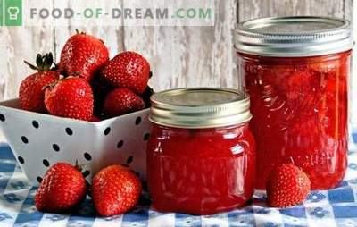 Fraises au sirop pour l'hiver: avec sucre, acide citrique, gélatine. Recettes fraises en conserve au sirop pour l'hiver