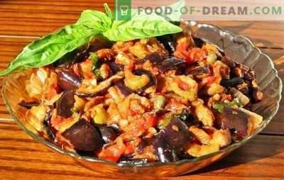Aubergine à la mijoteuse: deuxième plat et préparations pour l'hiver. Les recettes d'aubergines dans une mijoteuse sont simples et uniques en goût.