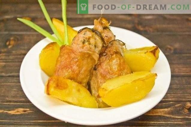 Côtelettes de poulet au gingembre et piment rouge - Rôti à l'oriental