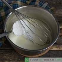 Crème au miel crémeuse pour tout gâteau