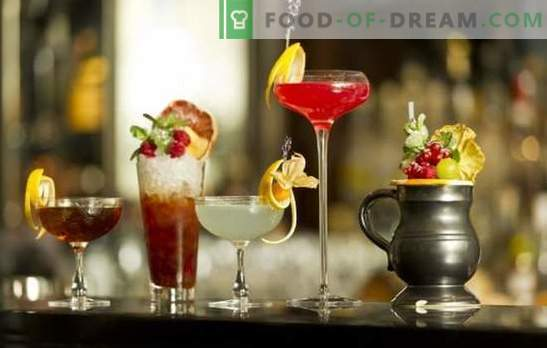 Cocktails de Nouvel An sans alcool: recettes et options du TOP-5