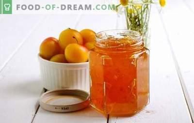 Confiture de prunes et de cerises à l'orange - arômes d'agrumes d'horlogerie! Recettes pour diverses confitures de prunes de cerises et d'oranges