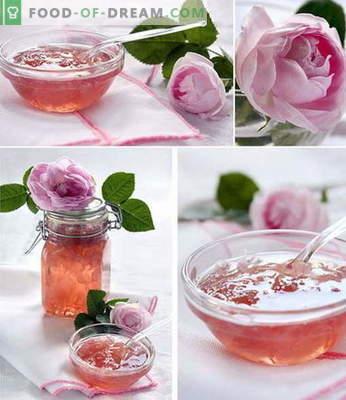 Confiture de roses: comment préparer correctement la confiture de roses