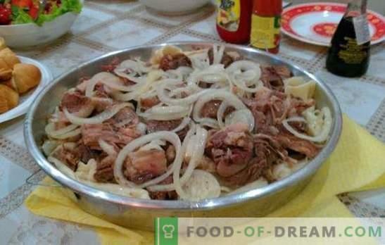 Le beshbarmak fait maison - un plat des peuples turcophones. Beshbarmak à la maison avec agneau, perdrix, dinde, porc