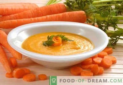 Морско пире - најдобрите рецепти. Како правилно и вкусно варен морков пире.