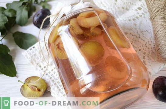 Compote de prunes aux épices