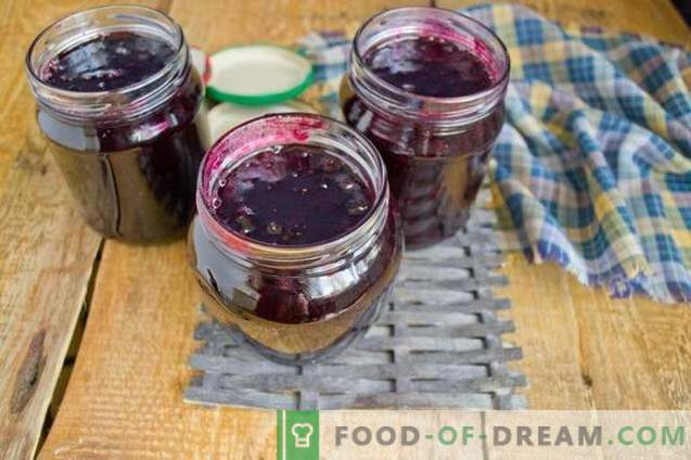 Confiture de cassis - simple, savoureuse, utile!