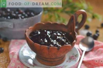 Џем од црна рибизла - едноставен, вкусен, корисен!