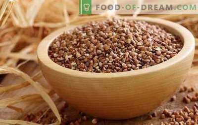 Comment cuire le sarrasin: méthodes de cuisson variées et conseils de professionnels. Recettes de sarrasin bouilli
