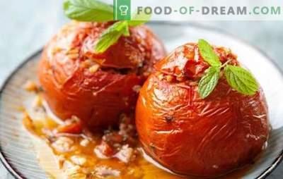 Tomates avec du fromage dans une mijoteuse - ne violent pas le régime. Tomates légères avec du fromage dans une cocotte