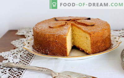 Mannik sur la crème sure: comment cuisiner? Les recettes de mannica les plus populaires à la crème sure: citron, banane, chocolat