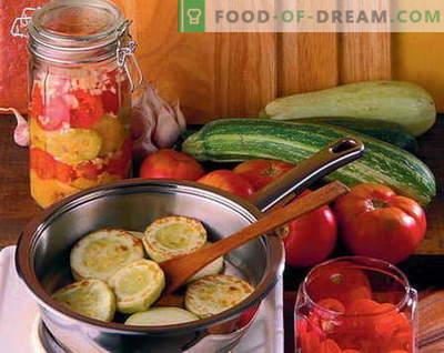 Les salades en conserve sont les meilleures recettes. Comment bien et savoureux salades en conserve cuites.