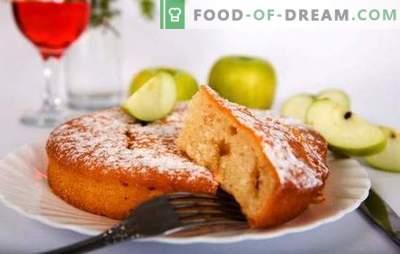 Dieetõuna pirukas - ei peegeldu talje juures! Retseptid ja nipid toiduvalmistamiseks sidrunid õunadega