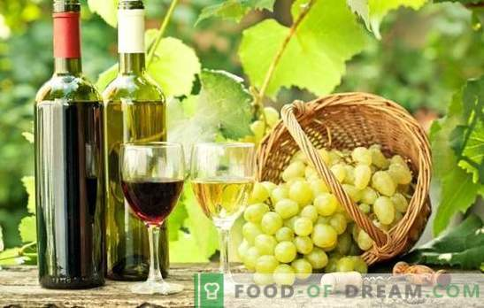 Le vin de raisin à la maison est utile! Secrets de faire du vin de raisins à la maison