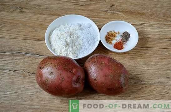 Des pommes de terre au four comme un feu de camp: une recette photo étape par étape. Quand vous voulez des pommes de terre au feu, mais que le temps ne le permet pas, il y a une solution!