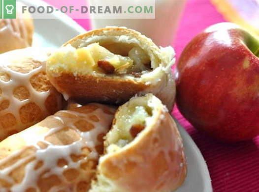 Les galettes de pommes sont les meilleures recettes. Comment bien et savoureux faire cuire les tartes aux pommes.