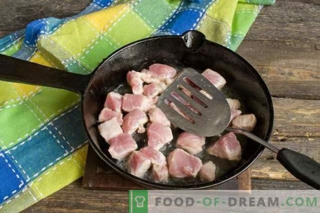 Goulache de porc à la sauce