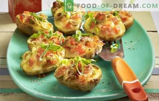 Pommes de terre à la tomate - pour les végétariens et pas seulement. De merveilleuses recettes de pommes de terre aux tomates