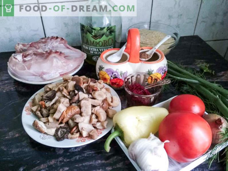 Paella espagnole - une recette pour préparer un délicieux plat méditerranéen à la maison