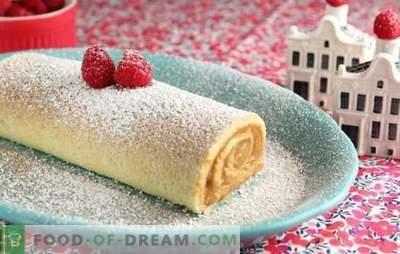 Gâteau éponge avec du fromage cottage - saveur maison! Recettes de biscuits tendres avec fromage cottage et œufs, beurre, kéfir, crème sure, pommes