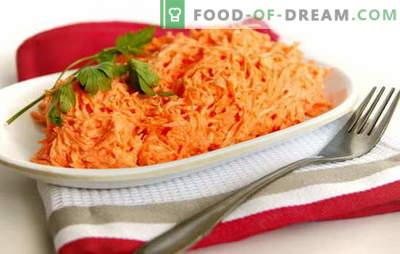 La salade de carottes à la mayonnaise est simple et dans le style de la cuisine coréenne. Recettes Salades de carottes rapides à la mayonnaise