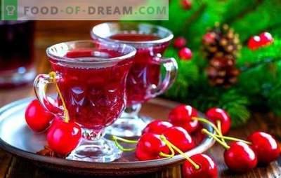 Liqueur de cerise: couleurs vives de l'été dans un verre! Recettes de liqueur de cerises - trois façons de faire: l'art des magiciens à la maison