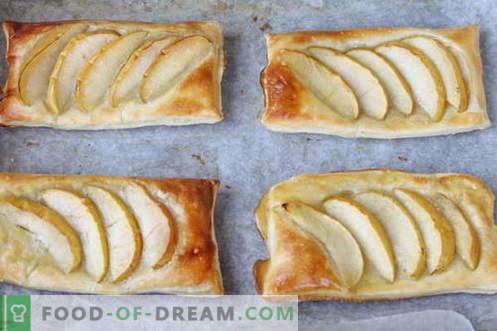 Десерт - вдлабнатини со јаболка. Евтин и многу вкусен!