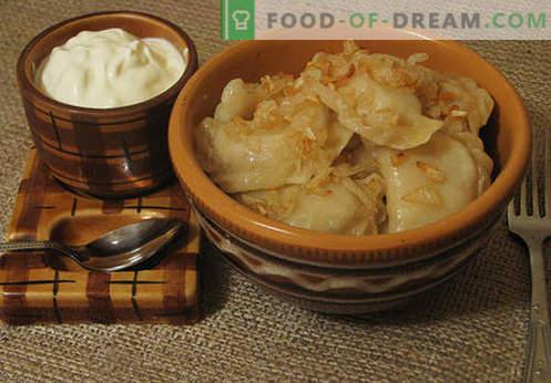 Les boulettes de choux sont les meilleures recettes. Comment bien et savourer des boulettes de crème pâtissière à la maison.