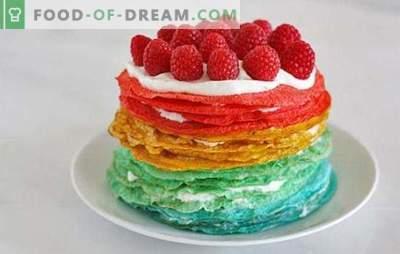 Gâteau crêpe à la crème sure: un dessert insolite ou une collation originale? Recettes de gâteaux de crêpes à la crème sure pour toutes les occasions