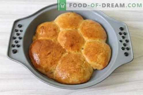 Dumplings à l'ail - le meilleur service pour le bortsch ou la soupe!