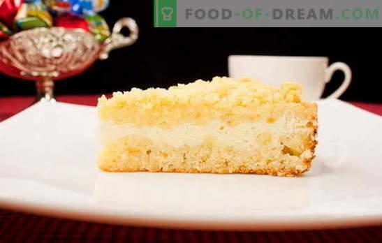 Cheesecake royal inégalé: vanille classique, chocolat, pommes et poires. Recettes Cheesecakes Royaux