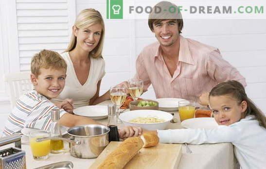 Un dîner simple et rapide est l'occasion de nourrir rapidement et savoureusement une famille. Comment faire cuire un dîner simple et pressé
