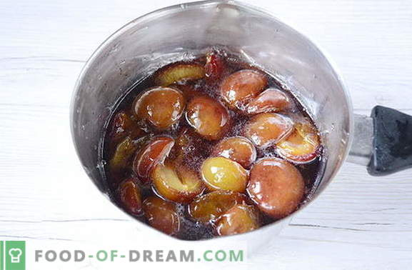 Confiture originale de prunes aux épices